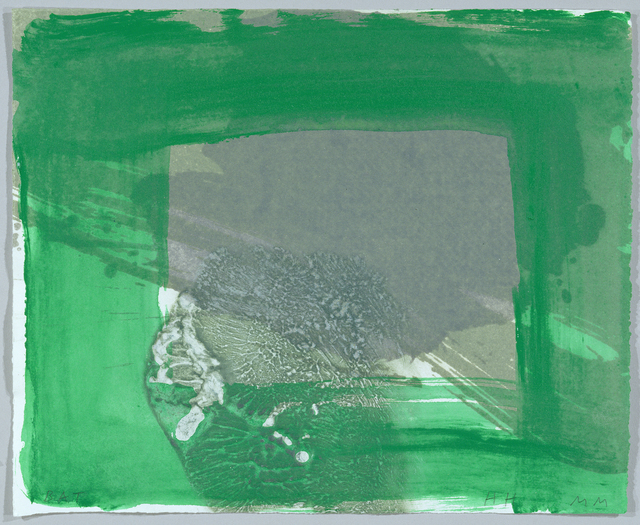 Howard Hodgkin, 'Rain', 2001, Print, Hand-painted lift-ground etching with aquatint from 2 copper platesand carborundum from 1 plastic plate on 100% cotton paper, Cristea Roberts Gallery