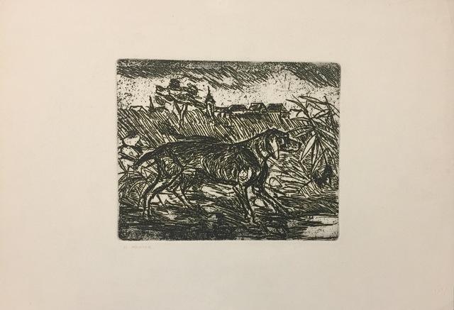 Antonio Ligabue, 'The Pointer', 1977, Wallector