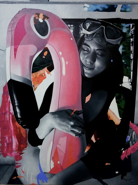 , 'Flamingo,' , G13 Gallery
