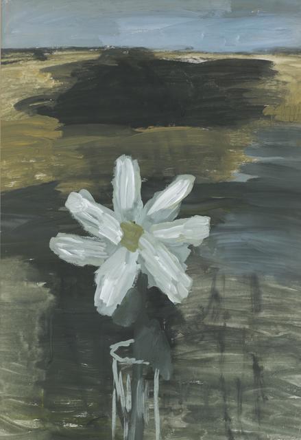 , 'White flower in glass,' 1969, ART4