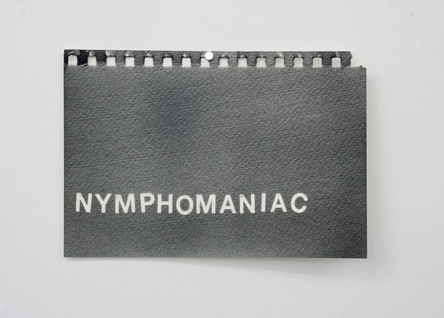 , 'Nymphomaniac,' 2016, Wil Aballe Art Projects | WAAP