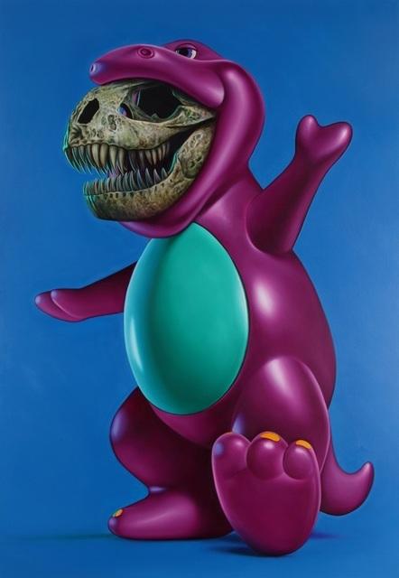 , 'Purple Dinosaurus,' 2010, Eternity Gallery