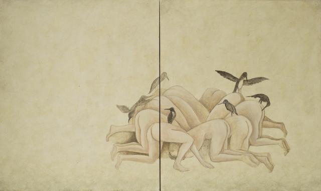 , 'Fragmento VIII a partir del trabajo de El Bosco,' 2016, Galería La Caja Negra