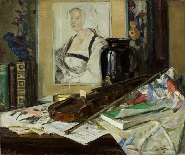 George Oberteuffer, 'Tabletop Arrangement', ca. 1925, Caldwell Gallery Hudson