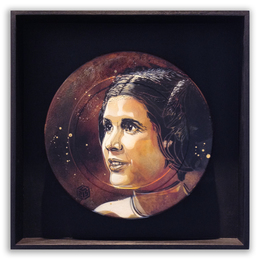 , 'Princess Leia,' 2014, StolenSpace Gallery