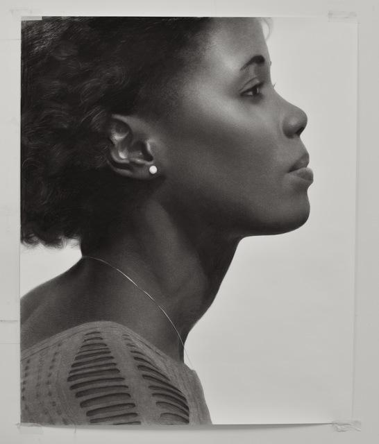 , 'Sarah Profile,' 2017, GALERIE BENJAMIN ECK