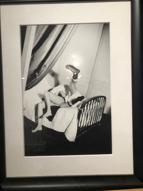 , 'Couple Exercising in Bed, Paris,' 1986, ART CAPSUL