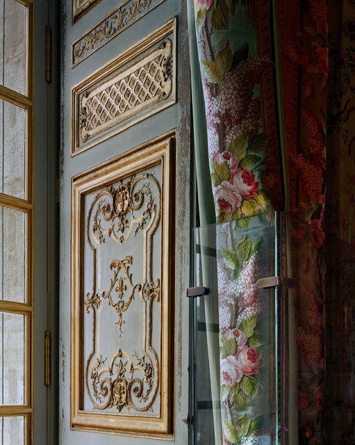 , 'Boiserie and curtains, Chambre de la Reine, (115) CCE.02.029, Corps Central - 1er étage, Château de Versailles, France,' 2007, Sundaram Tagore Gallery