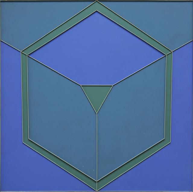 , 'Green Circumvert with Yello Green,' 1963, David Richard Gallery