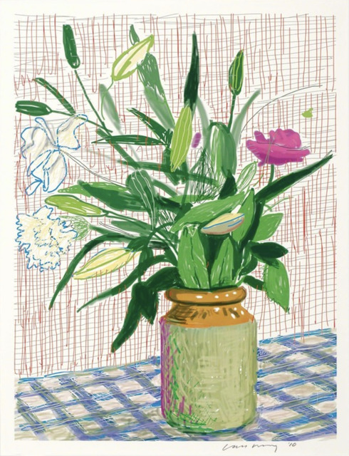 David Hockney, 'Untitled no. 516  from A Bigger Book: Art Edition D', 2016, Mary Ryan Gallery, Inc