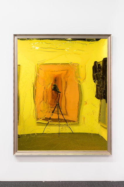, 'Adding insult to injury with a hot potato,' 2015, Neon Parc