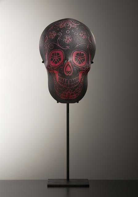 , 'CALAVERA NEGRA II,' 2017, Heller Gallery