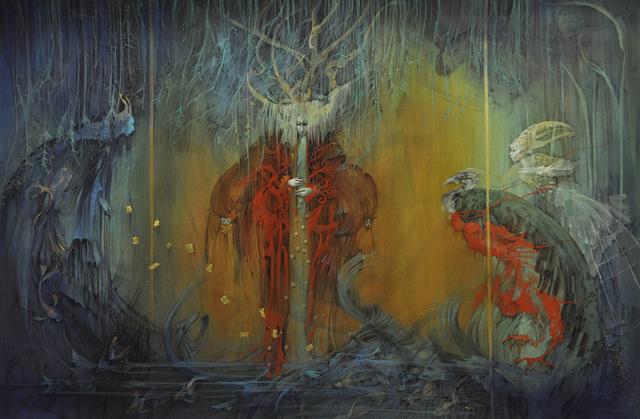 , 'Trinity,' 2016, AFA Gallery
