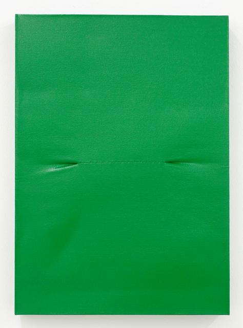 , 'Scar Green,' 2016, Galerie Krinzinger