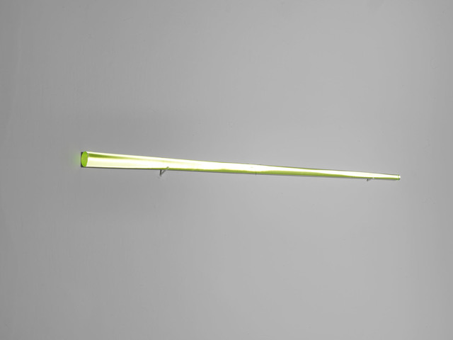 , 'Untitled (Incandescent glass bar),' 2008, Alfonso Artiaco