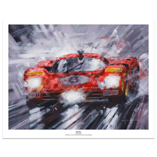 , 'Red Mist,' 2008-2016, Whyte Fine Art