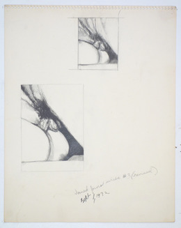 , 'Fuck Drawing #3 (revised),' 1972, Rodolphe Janssen