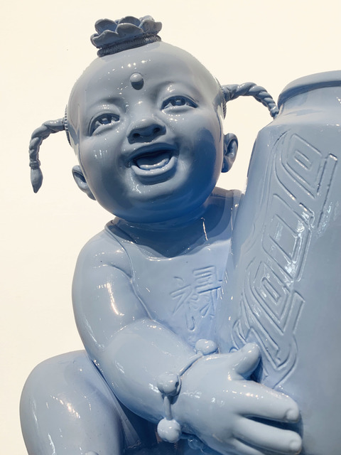 Luo Brothers, 'Blue', Contemporary, Sculpture, Fiberglass and resin, Adelson Galleries