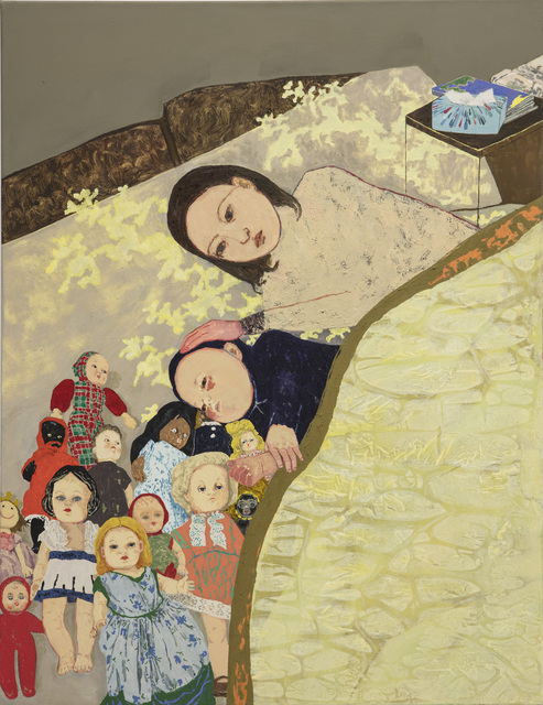 Maya Hewitt, 'Heartmade Shelter', 2020, Painting, Oil and acrylic on canvas, Galería Marta Cervera