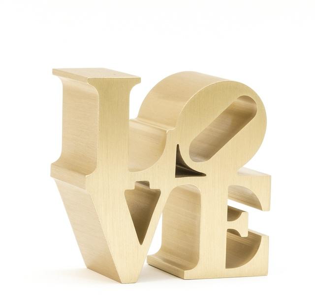 Robert Indiana, 'Love sculpture (Gold)', 2009, Forum Auctions