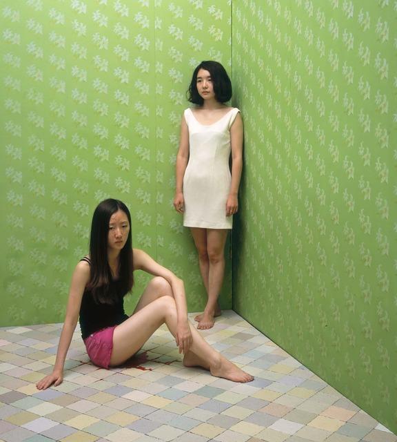 , 'Red Series - Green No.1,' 2013, Klein Sun Gallery