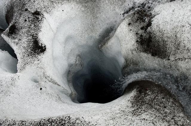 , 'Glacier Hole / Svinafellsjokull,' 2012-2013, C. Grimaldis Gallery