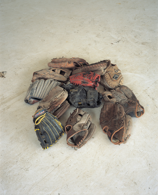Area Park, 'Baseball gloves', 2011, Photography, Light Jet Print, Total Museum of Contemporary Art
