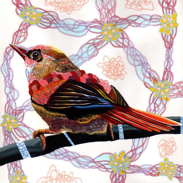 , 'Endangered Bird #100a,' 2015, Jenn Singer Gallery