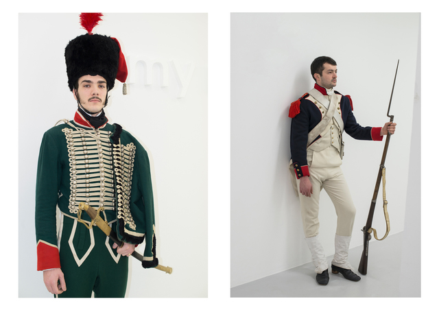 , 'Hussard - Grenadier (Character to Be Reactivited),' 2013-2014, Air de Paris