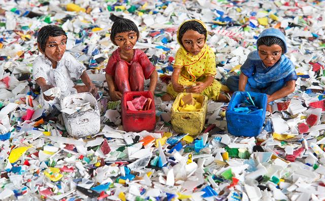 Karine Giboulo, 'Recyclage de couleurs', 2013, Art Mûr
