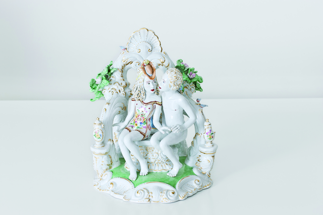 , 'Secluded Kiss [Courtesy MEISSEN COUTURE® Art Collection],' 2013, Cynthia Corbett Gallery