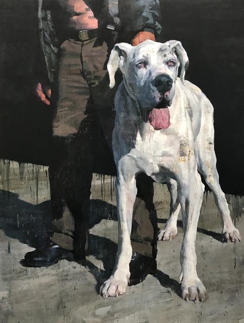 , 'White Dog,' 2018, Galerie Olivier Waltman | Waltman Ortega Fine Art