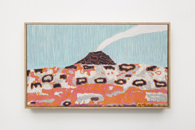 , 'Flower Power Volcano,' 2017, GRIMM