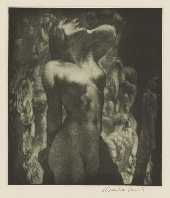 , 'The Model,' 1945, Childs Gallery