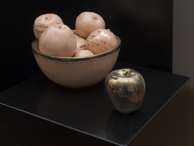 LORENA FERNÁNDEZ, 'ALTAR DE HEROÍNAS (detalle instalación)', 2017, Miranda Bosch