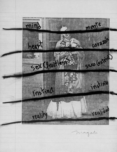 , 'Mente, Corazón, sexo, Instinto,' 1978, WALDEN