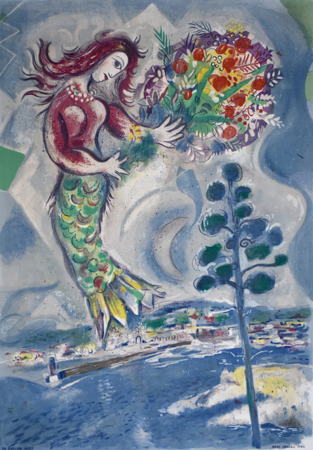 , ' Siren with Pine, from: Nice and the Côte d'Azur | Sirène au Pine,' 1967, Gilden's Art Gallery