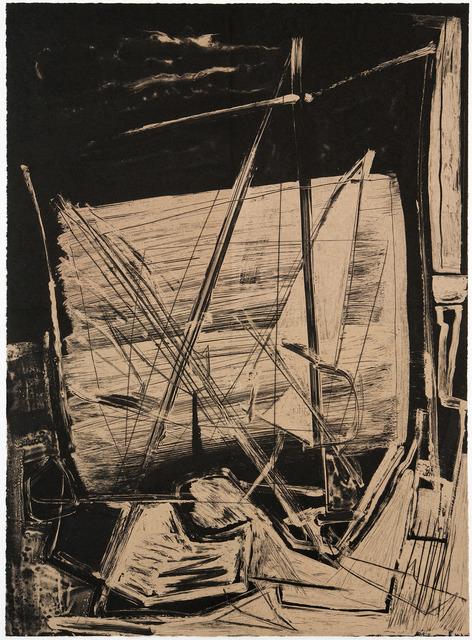 , 'Dusk Mast,' 2012, Graphicstudio USF