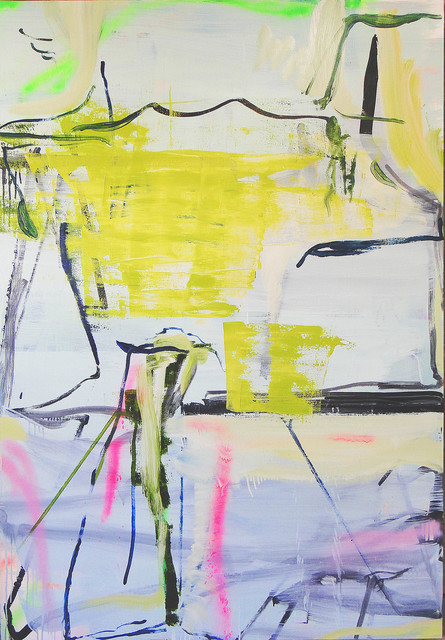 , 'Pintura Sem Título (Ariel encontra Calibran - Green Version),' 2016, Roberto Alban Galeria de Arte