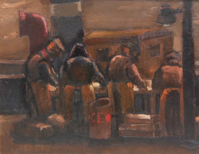 , 'Sorting Fish,' 1958, Boundary Gallery