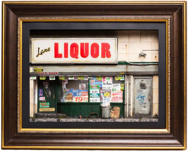 , 'Lane Liquor,' 2016, Black Book Gallery