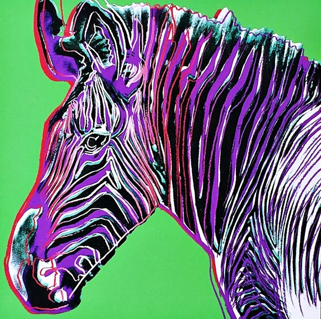 Andy Warhol, 'Zebra for Art Basel', 1987, Alpha 137 Gallery