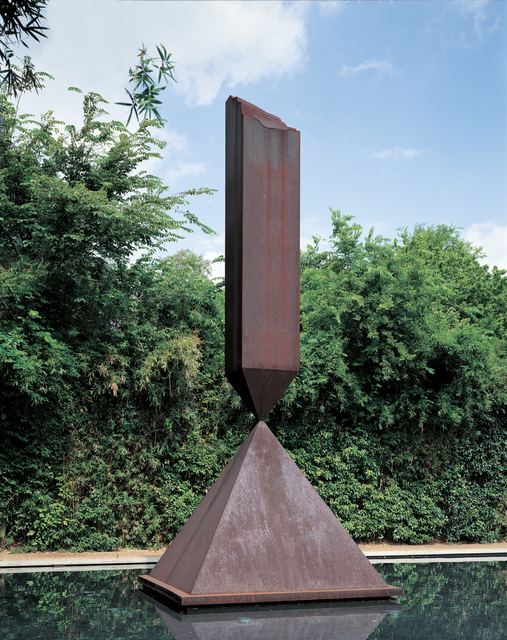 , 'Broken Obelisk,' 1963-1967, The Menil Collection
