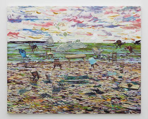 , 'Lunch on the windy beach,' 2014, NUNU FINE ART