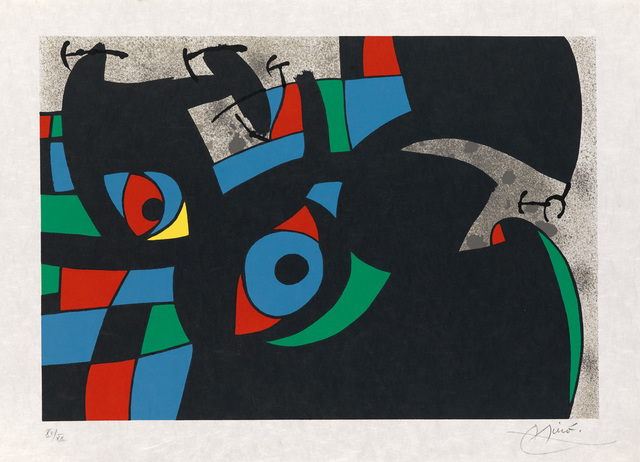 Joan Miró, 'Le Lezard Aux Plumes D'or [7]', 1971, Fairhead Fine Art Limited