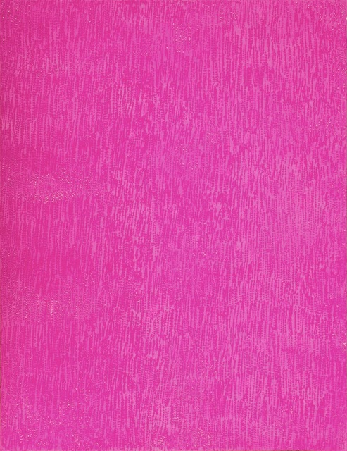 , 'Acrylic on Scratched Paper (Pink) ,' 2016, Aicon Gallery