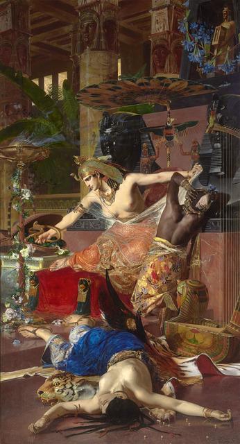 , 'Cleopatra,' 1883, M.S. Rau Antiques