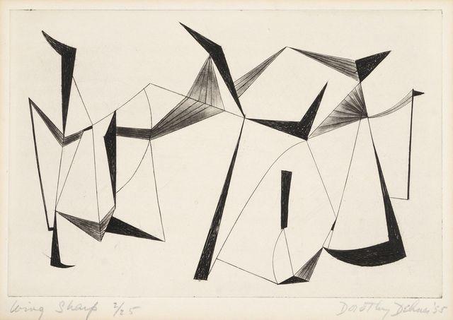 Dorothy Dehner, 'Wing Sharp', 1955, Roseberys