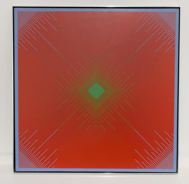 Richard Anuszkiewicz, 'The Wind's Eye', 1965, Loretta Howard Gallery