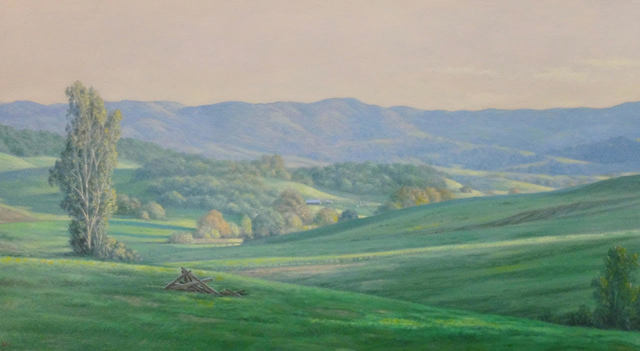 , 'Green Fields ,' 2020, Andra Norris Gallery